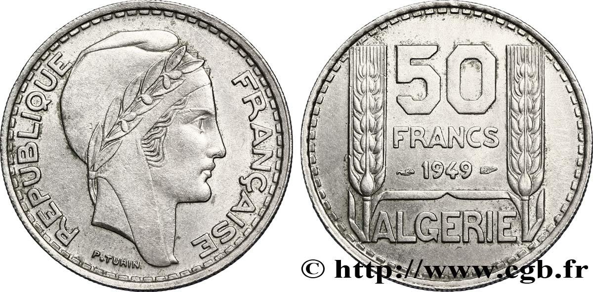 ALGERIE  ALGERIA  50 francs  1949 etat