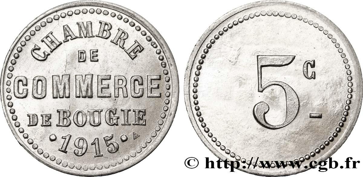 Alg rie 5 centimes chambre de commerce de bougie 1915 fco for Chambre de commerce algerienne