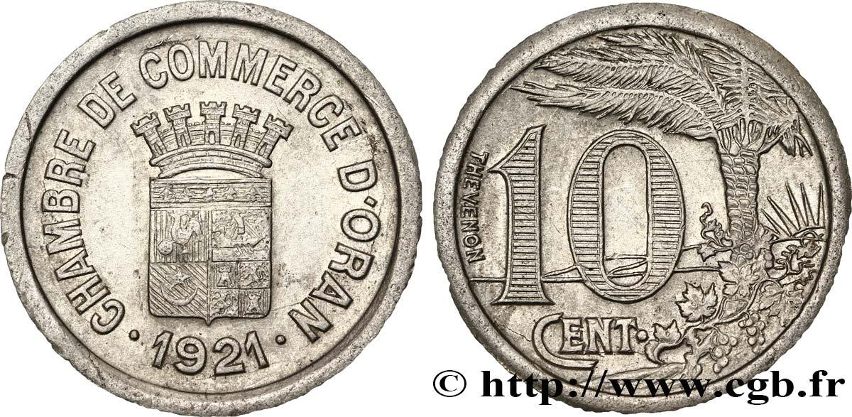 Alg rie 10 centimes chambre de commerce d oran 1921 sup for Chambre de commerce algerienne