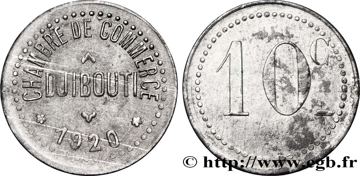 Djibouti 10 centimes chambre de commerce de djibouti 1920 for Chambre de commerce djibouti
