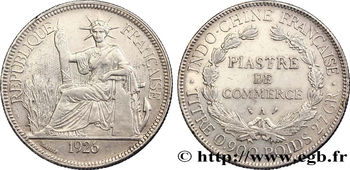 FRENCH INDOCHINA 1 Piastre de Commerce 1926 Paris