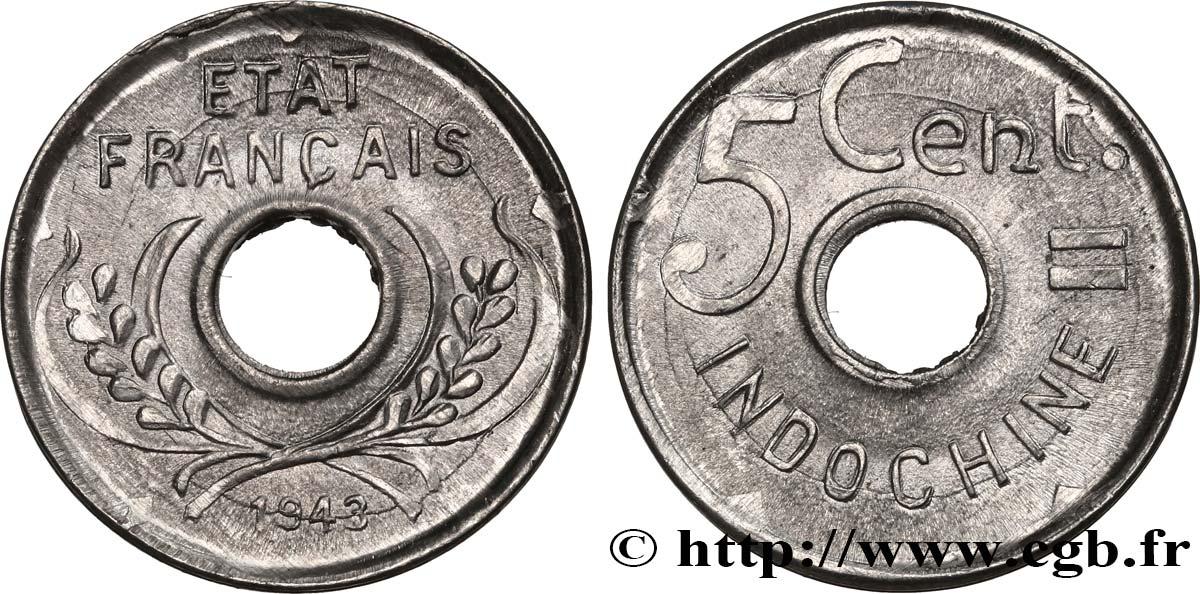 FRANCE etat FRENCH INDO-CHINA 20 cents 1945   indochine