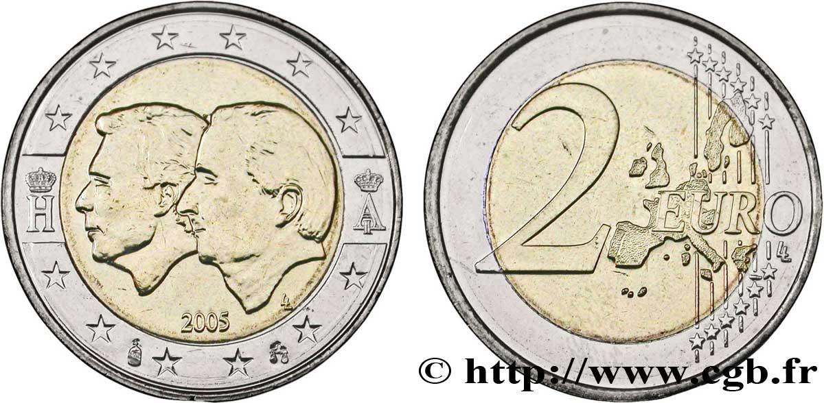 Belgien 2 Euro Union économique Belgo Luxembourgeoise 2005 Bruxelles