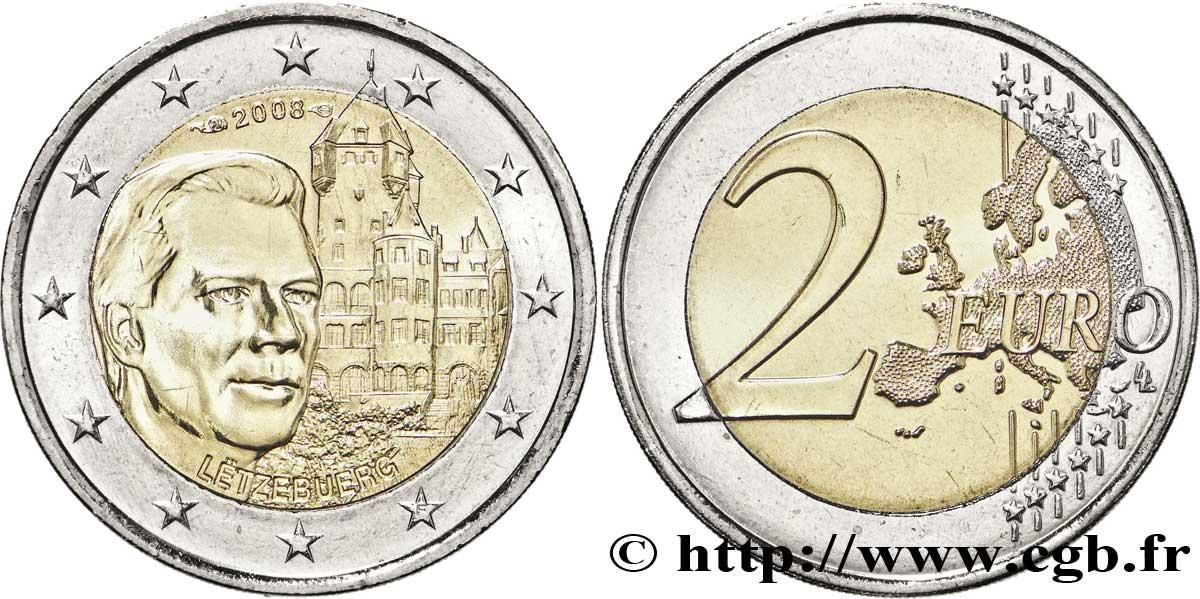 Luxemburg 2 Euro Château De Berg Tranche B 2008 Pessac Feu178399