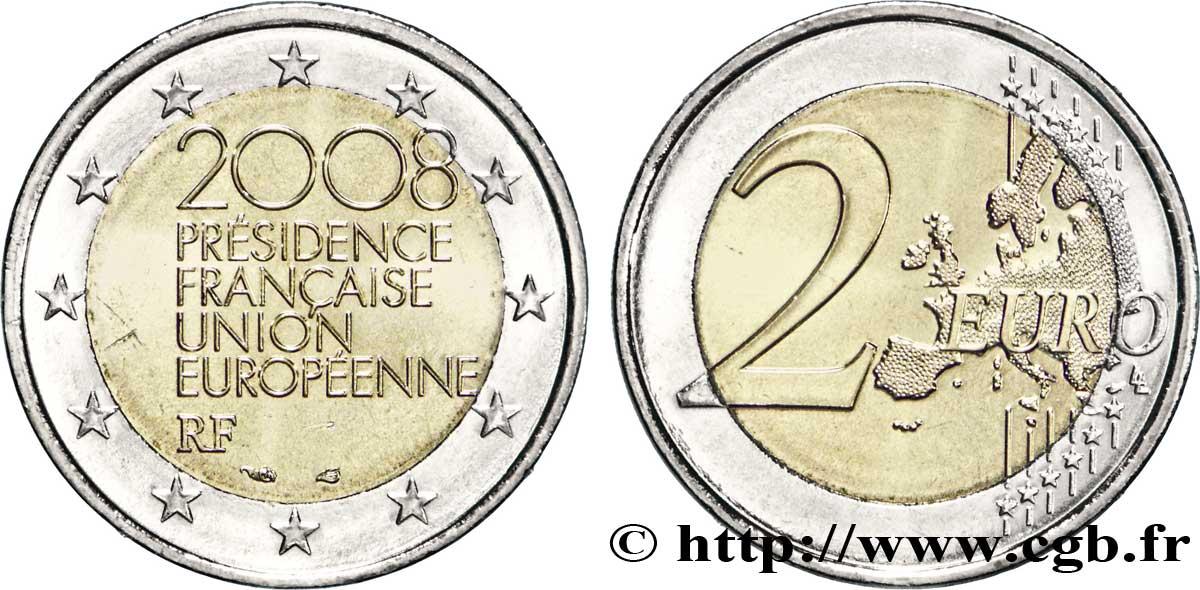 Frankreich 2 Euro Présidence Française De Lunion Européenne Tranche