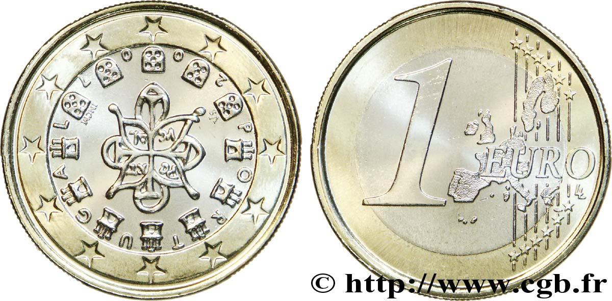 Portugal 1 Euro Sceau Entrelacé 1144 2007 Lisbonne Feu190616 Euro