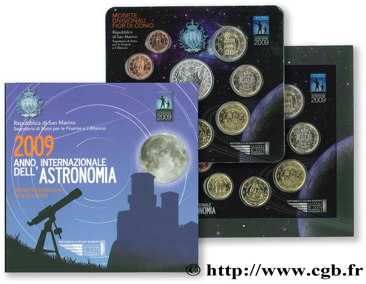 Saint marin s rie euro brillant universel 2009 ann e - Salon de l astronomie ...