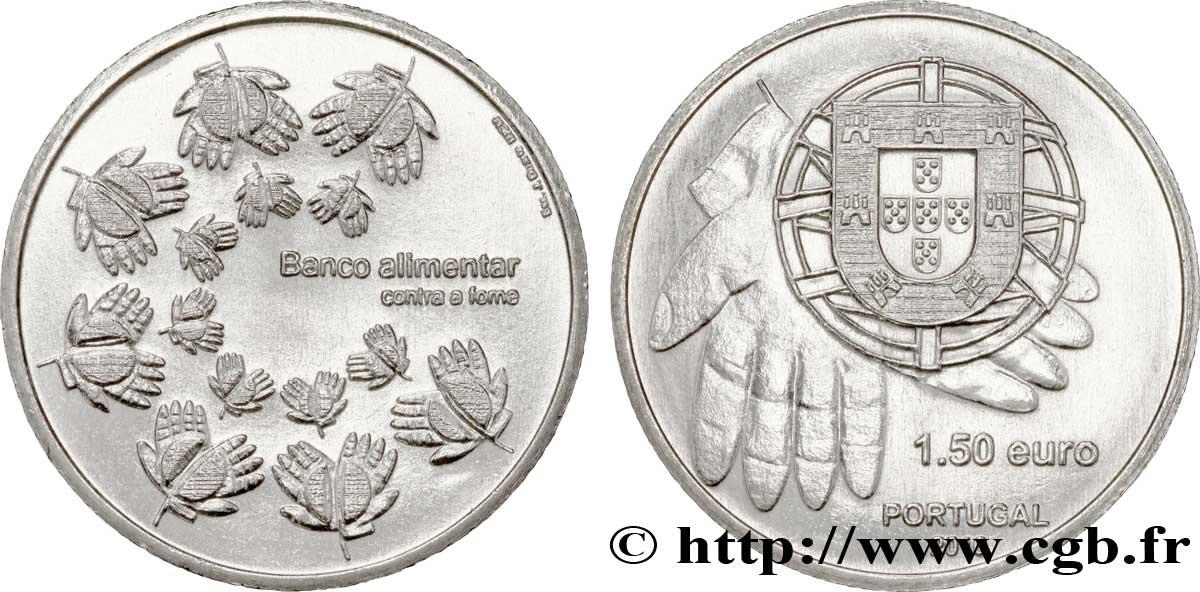 Portugal 1 Euro 12 Banque Alimentaire Une Monnaie Contre La Faim