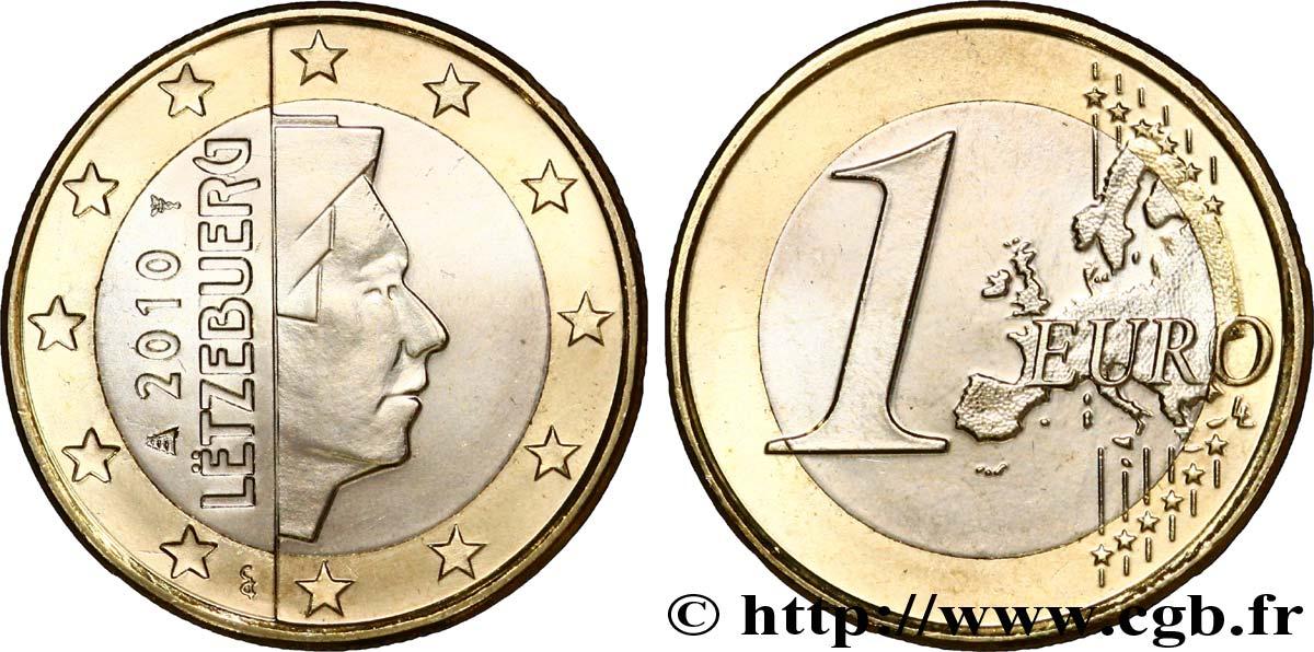 Luxemburg 1 Euro Grand Duc Henri 2010 Utrecht Feu241661 Euro Münzen