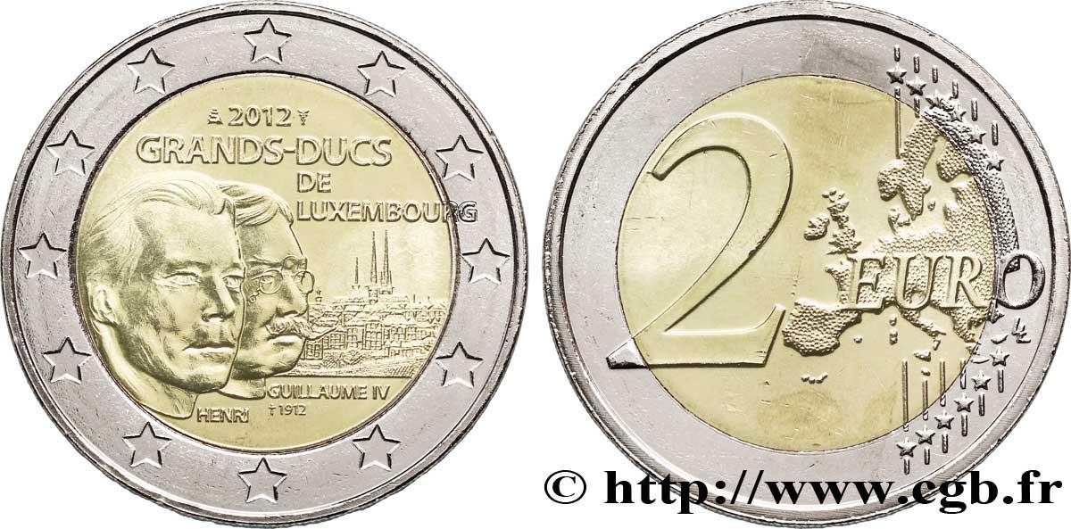 Luxemburg 2 Euro Grand Duc Guillaume Iv 2012 Utrecht Feu270123 Euro