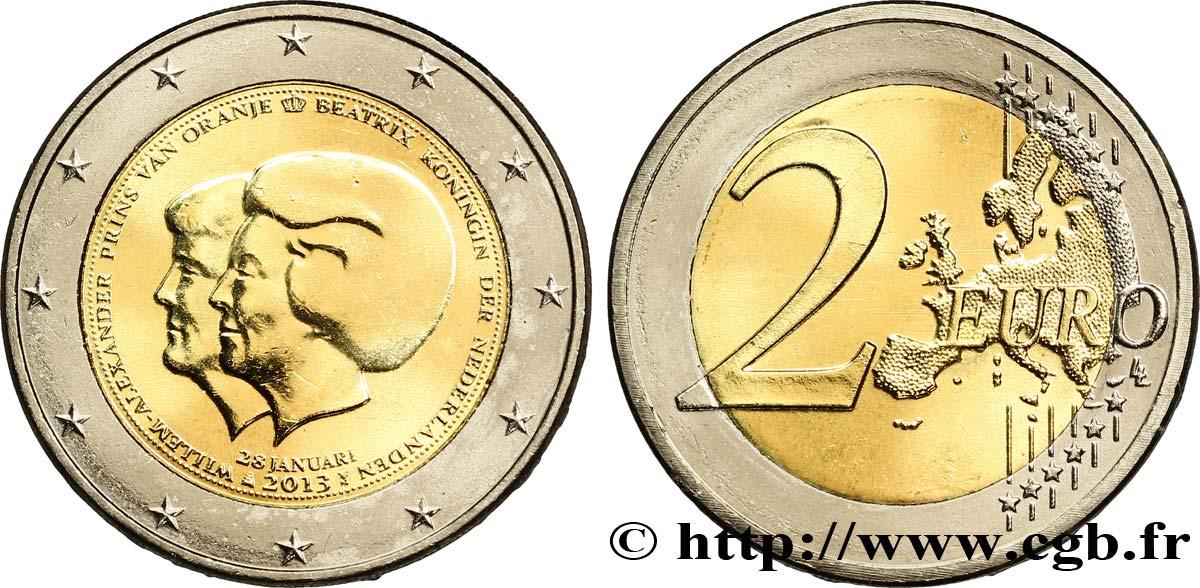 netherlands 2 euro double portrait tranche b 2013 utrecht feu 295789 euro coins