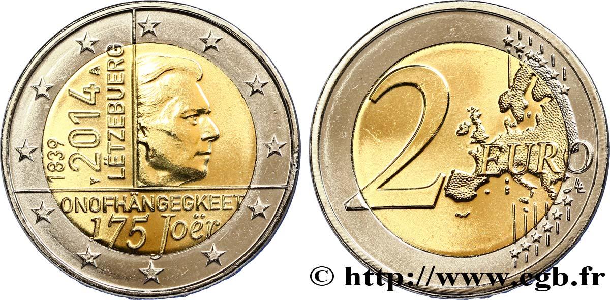 Luxemburg 2 Euro Independance Du Grand Duche De Luxembourg 2014