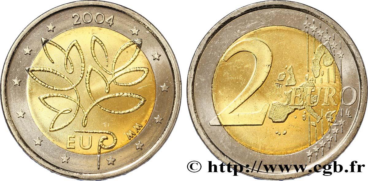 Finnland 2 Euro élargissement De Lunion Européenne 2004 Vanda