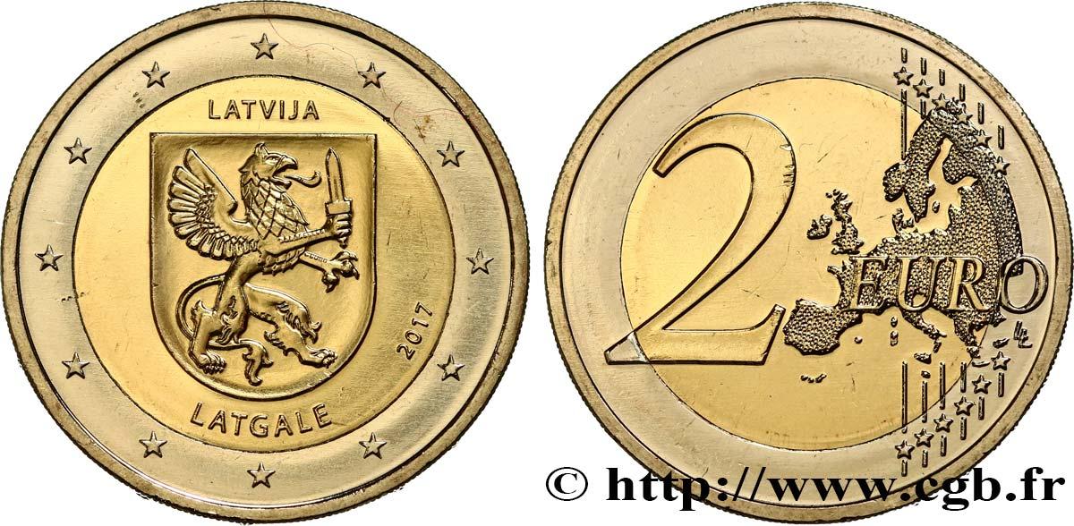 Lettland 2 Euro Latgale 2017 Feu465718 Euro Münzen