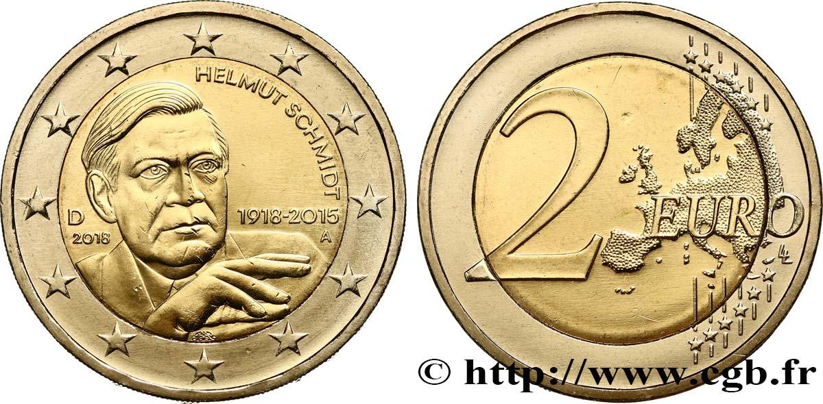 Deutschland 2 Euro Helmut Schmidt Berlin A 2018 Berlin A