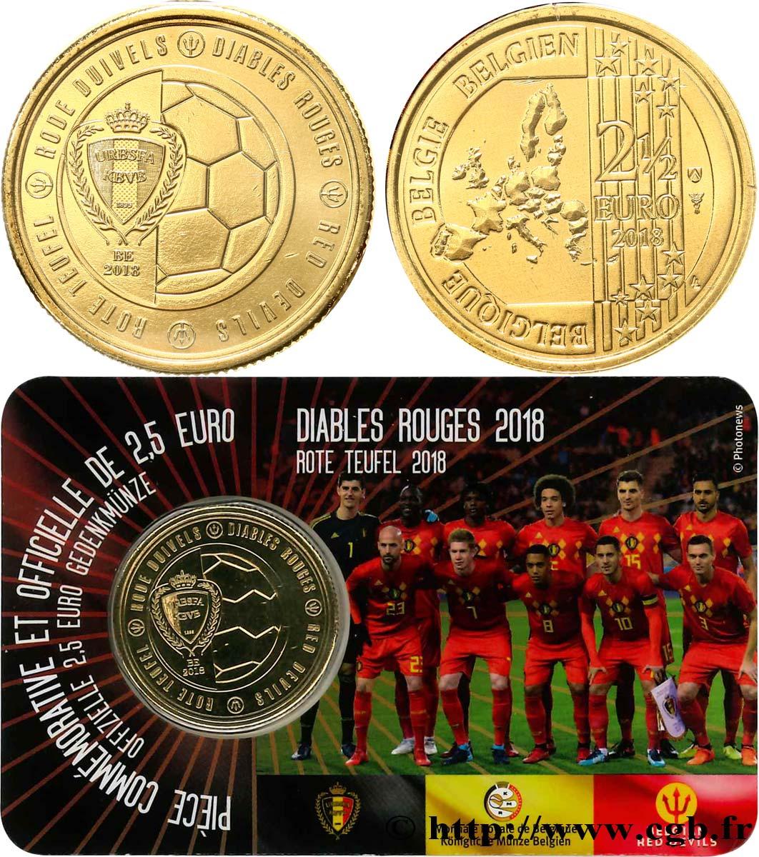 Belgien Coin Card 25 Euro Les Diables Rouges Coupe Du Monde De