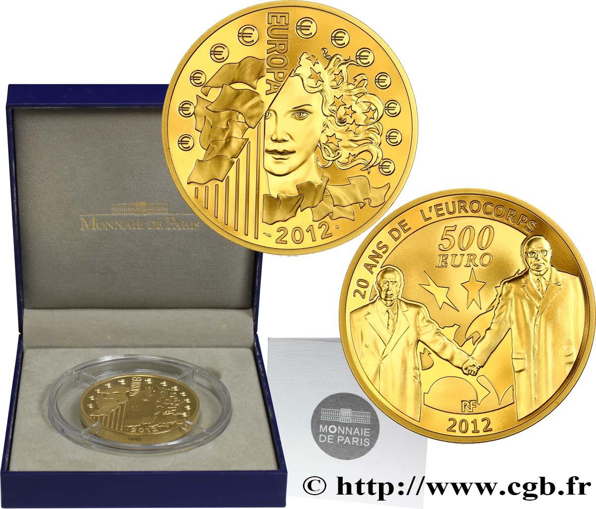 Frankreich Belle épreuve 500 Euro Europa 2012 20 Ans De L