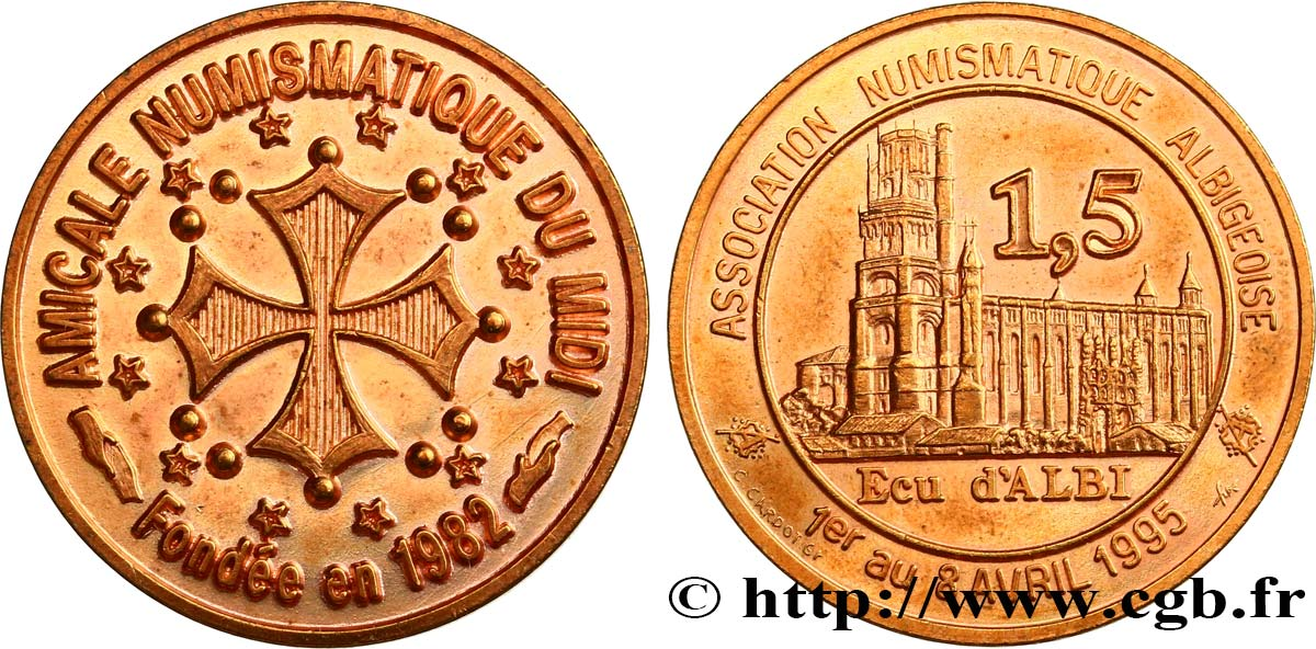 FRANCE 1,5 Écu d'Albi (1 - 8 Avril 1995) 1995 MS