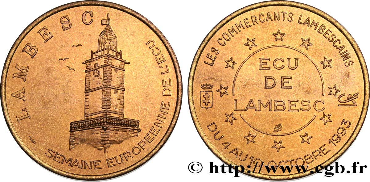 FRANCE 1 Écu de Lambesc (4 - 10 octobre 1993) 1993 SUP