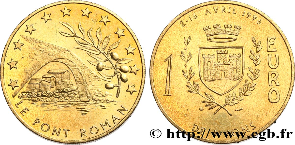 FRANCE 1 Euro de Nyons (2 - 16 avril 1996 ) 1996 SUP