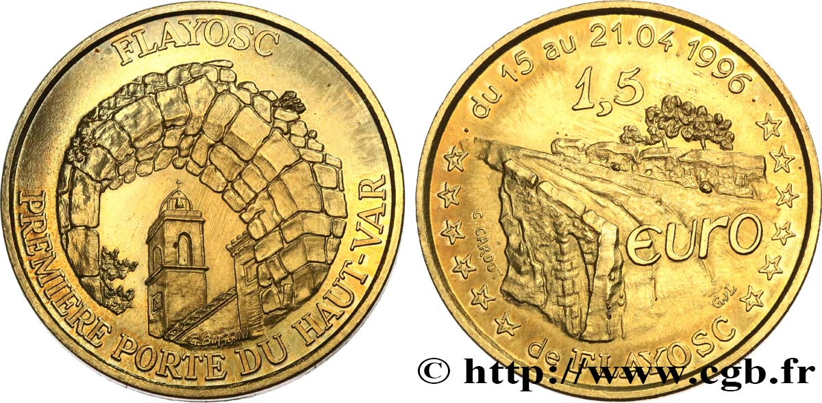 FRANCE 1,5 Euro de Flayosc (15 - 21 avril 1996) 1996 SUP