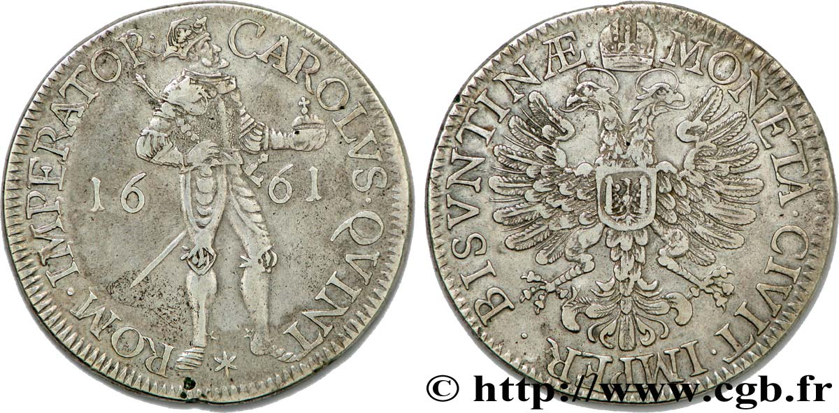 TOWN OF BESANCON - COINAGE STRUCK AT THE NAME OF CHARLES V Daldre XF