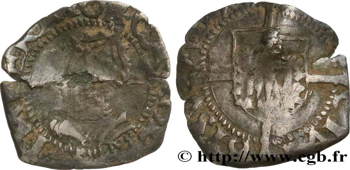 TOWN OF BESANCON - COINAGE STRUCK AT THE NAME OF CHARLES V Blanc B