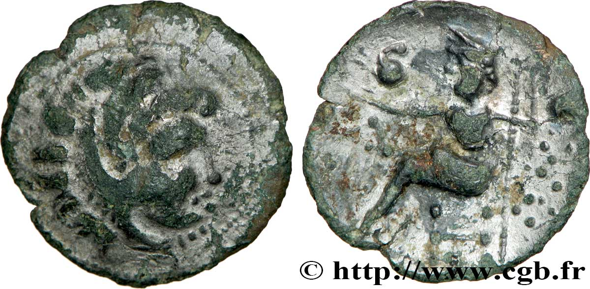 DANUBIAN CELTS - TETRADRACHMS IMITATIONS OF ALEXANDER III AND HIS SUCCESSORS Drachme, imitation du type de Philippe III VF/XF