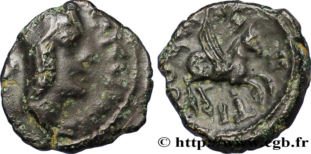 CARNUTES (Région de la Beauce) Bronze TASGIITIOS