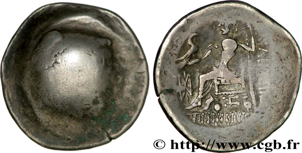 DANUBIAN CELTS - TETRADRACHMS IMITATIONS OF ALEXANDER III AND HIS SUCCESSORS Tétradrachme, imitation du type de Philippe III VF/AU