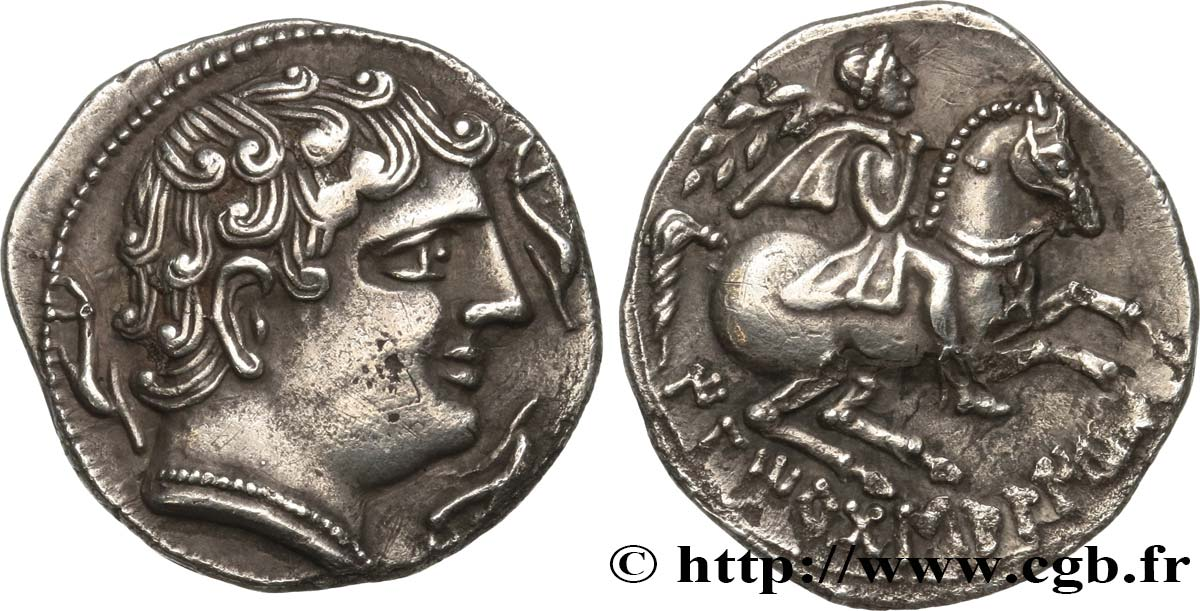 HISPANIA - ILERGETES - ILTIRTA (Province of Lerida) Denier MS