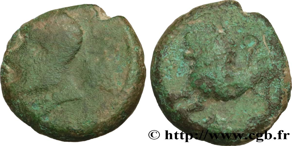 GALLIA BELGICA - REMI (Area of Reims) Bronze ATISIOS REMOS, classe II VF