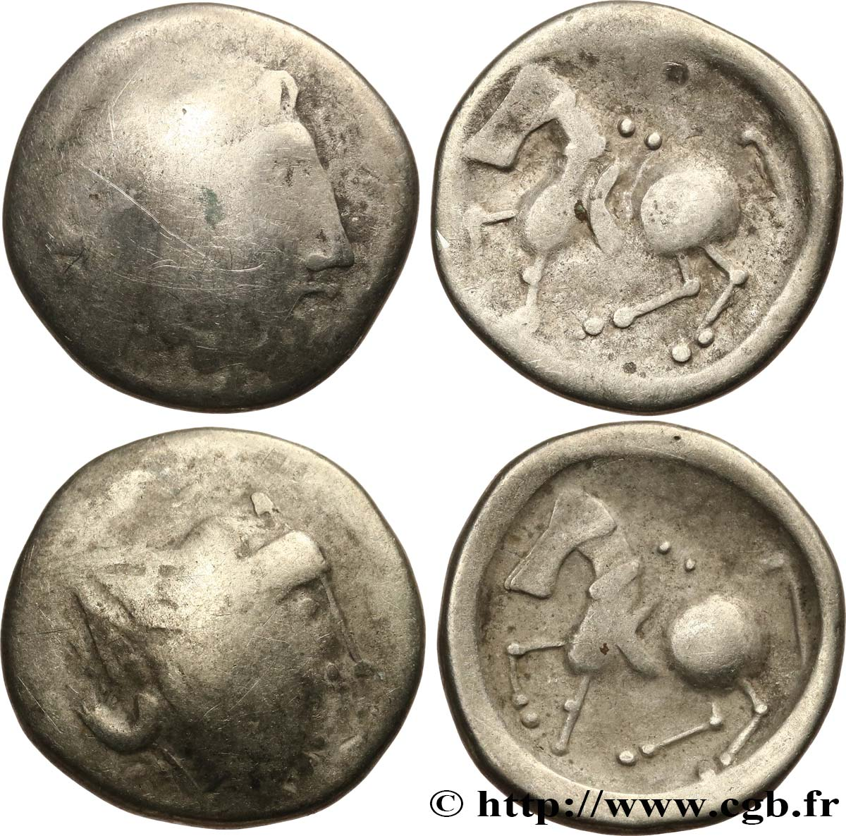 LOTS Lot de 2 tetradrachmes lot