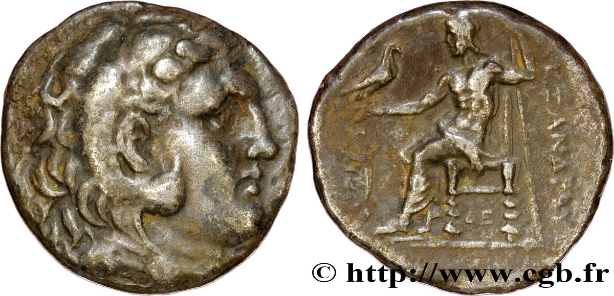 MACEDONIA - MACEDONIAN KINGDOM - DEMETRIOS POLIORKETES Tétradrachme XF