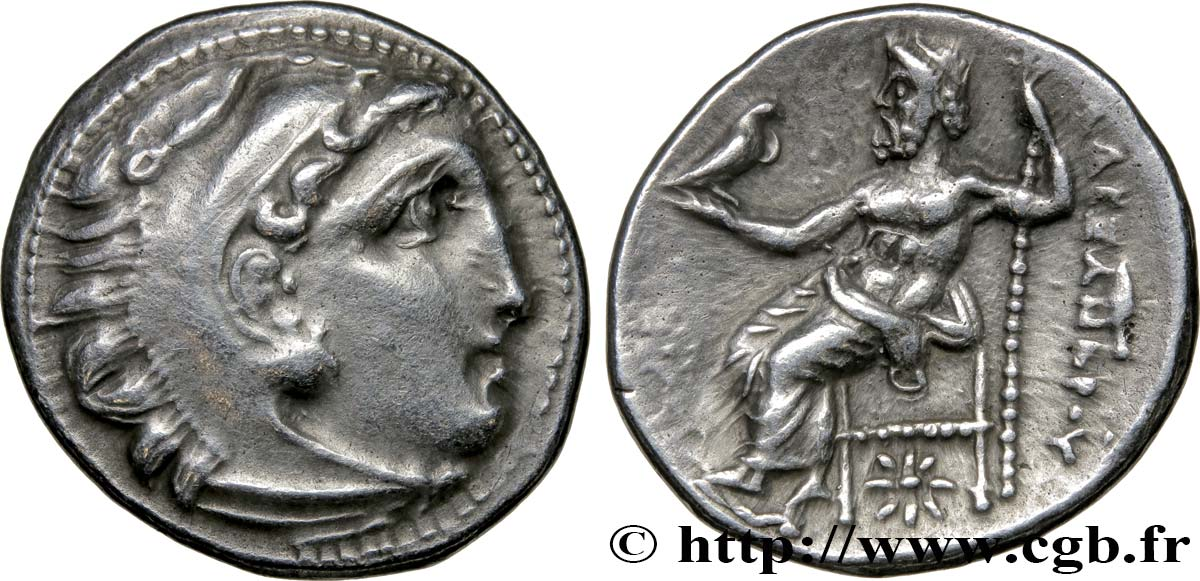 MACEDONIA - KINGDOM OF MACEDONIA - PHILIPP III ARRHIDAEUS Drachme AU