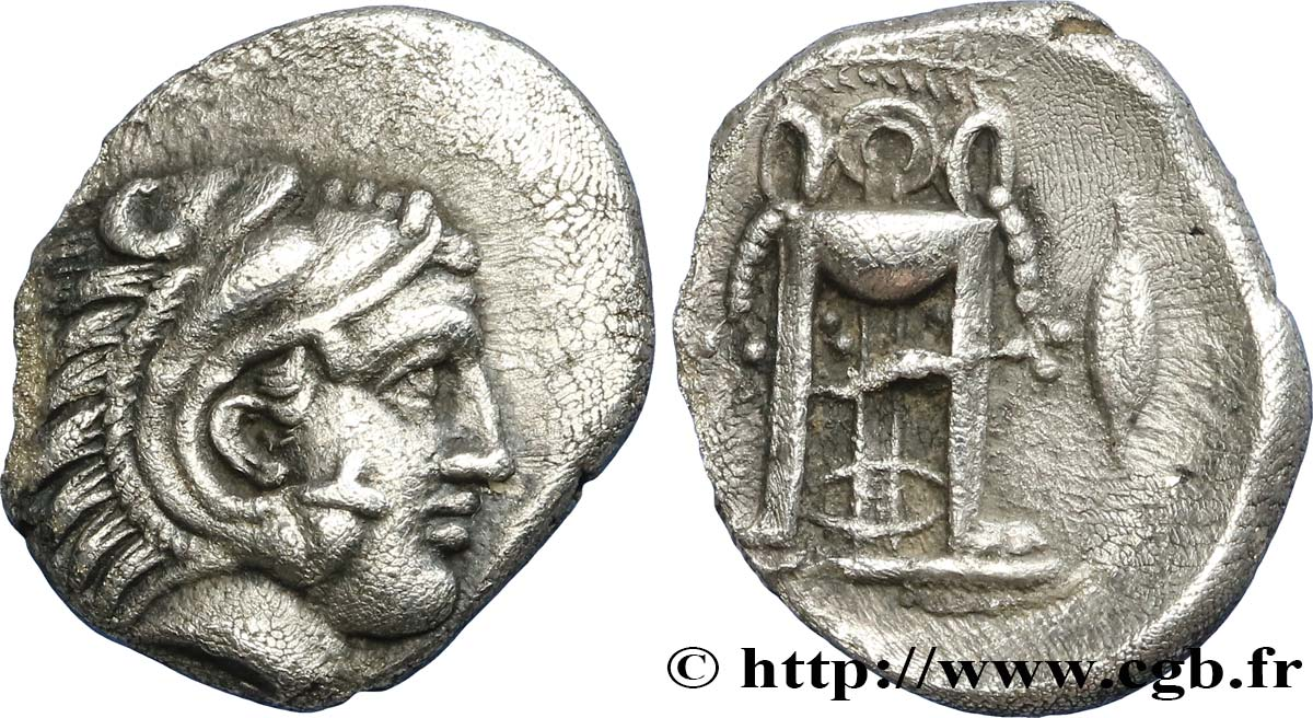 MACEDONIA - PHILIPPI Hemidrachme AU