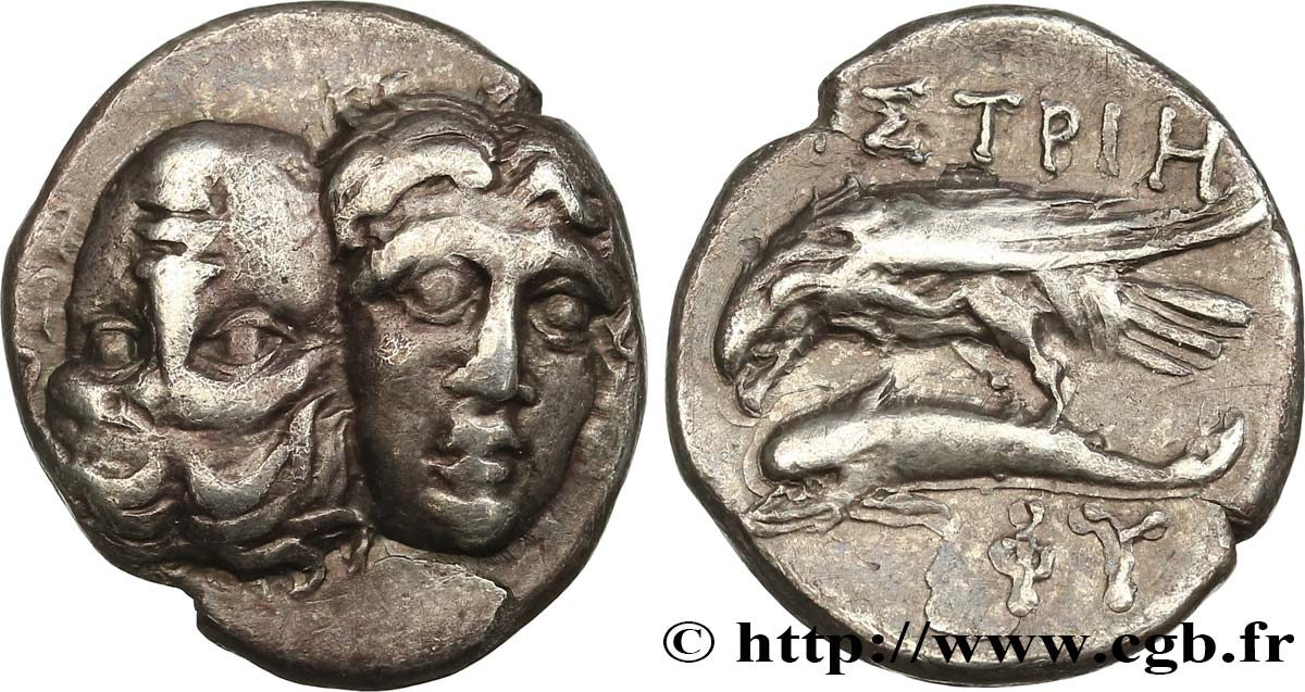 THRACE - ISTROS Drachme XF