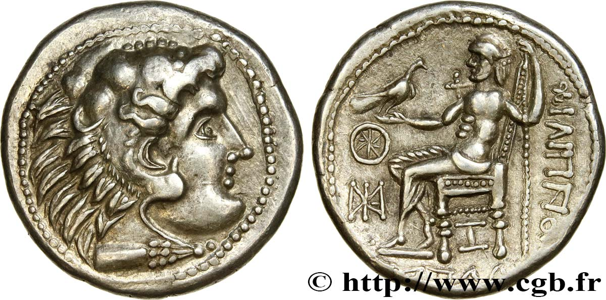DANUBIAN CELTS - IMITATIONS OF THE TETRADRACHMS OF ALEXANDER III AND HIS SUCCESSORS Tetradrachme, AU