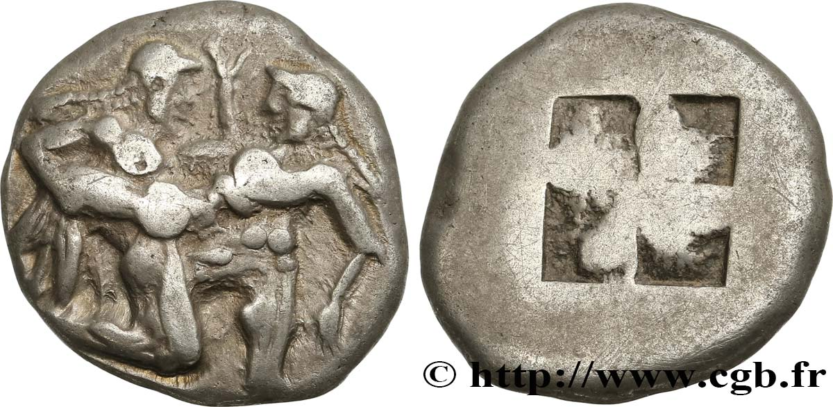 THRACE - THRACIAN ISLANDS - THASOS Statère VF