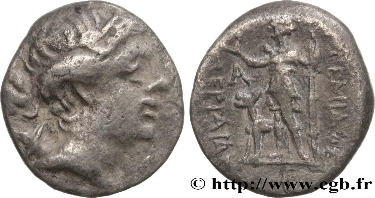 PAMPHYLIA - PERGE Drachme VF