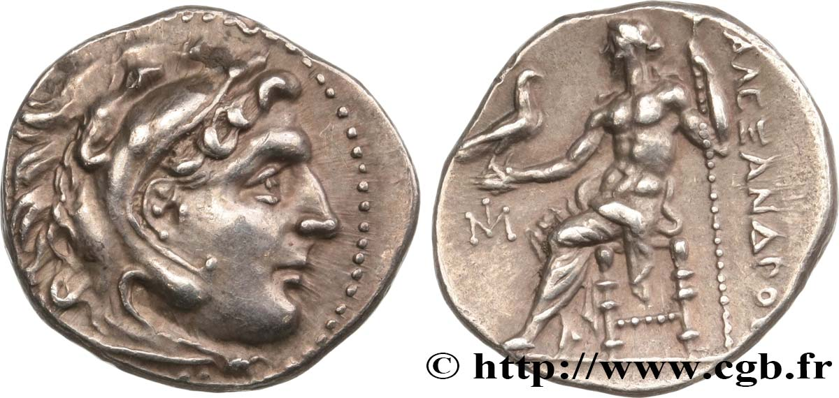 MACEDONIA - MACEDONIAN KINGDOM - DEMETRIOS POLIORKETES Drachme MS