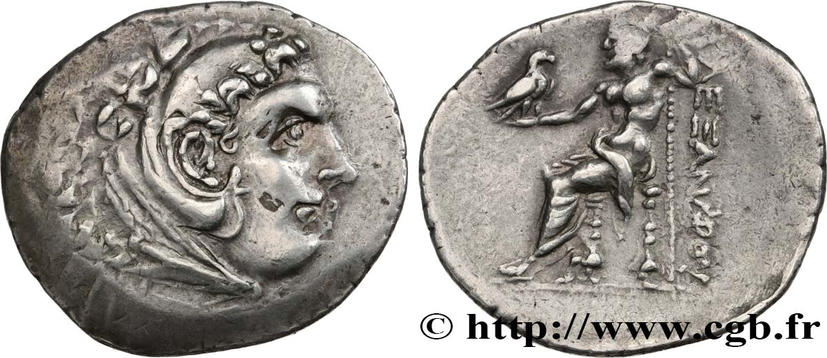 KINGDOM OF MACEDONIA - ALEXANDER IV Tétradrachme VF