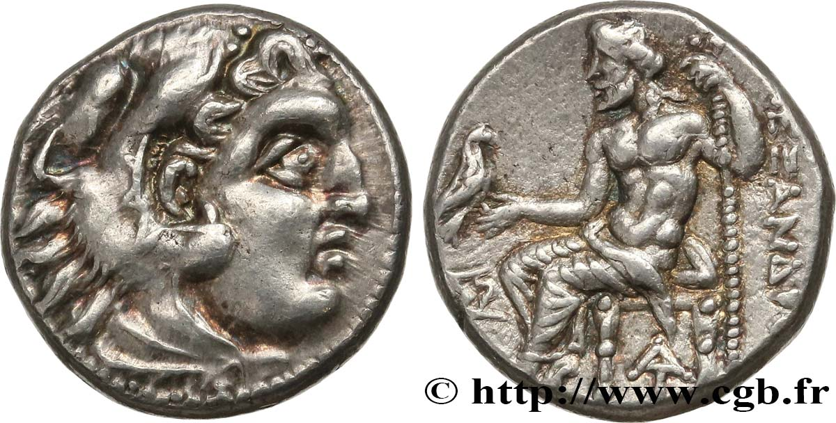 KINGDOM OF MACEDONIA - ALEXANDER IV Drachme MS/SPL