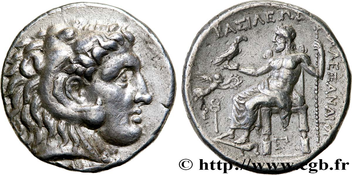 MACEDONIA - KINGDOM OF MACEDONIA - PHILIP III ARRHIDAEUS Tétradrachme AU