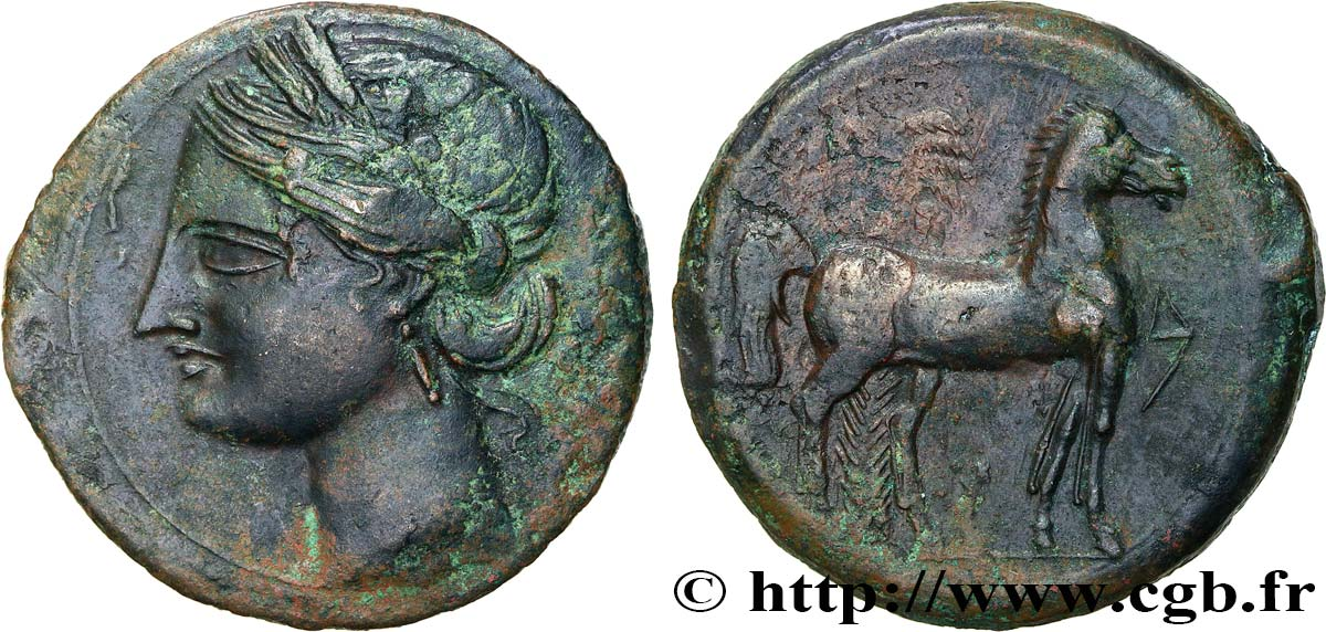 ZEUGITANA - CARTHAGE Triple shekel AU