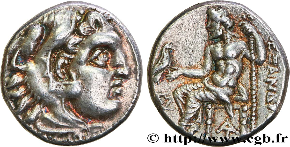 KINGDOM OF MACEDONIA - ALEXANDER IV Drachme MS/AU