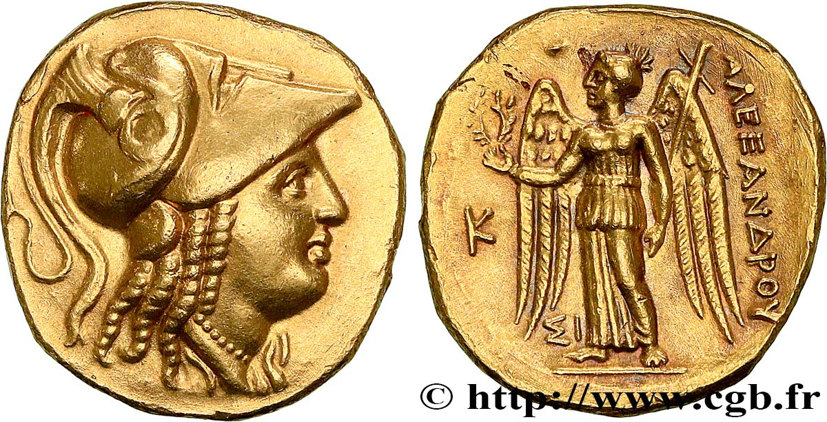 MACEDONIA - MACEDONIAN KINGDOM - ALEXANDER III THE GREAT Statère d or MS