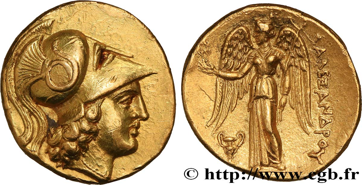 MACEDONIA - MACEDONIAN KINGDOM - ALEXANDER III THE GREAT Statère d or AU