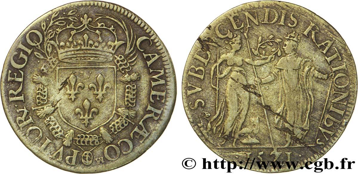 Jeton pour Charles IX, Chambre des comptes du roi ... Fjt_03280