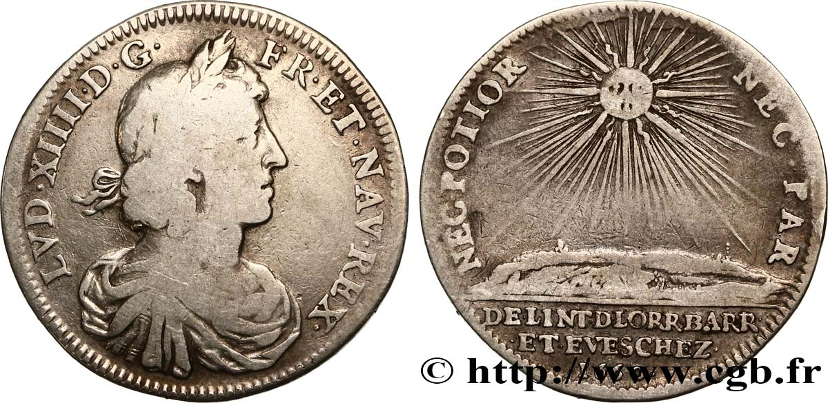 LOUIS XIV THE GREAT or THE SUN KING  VF